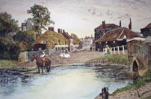 Ringwood (Restrike Etching) by Angley