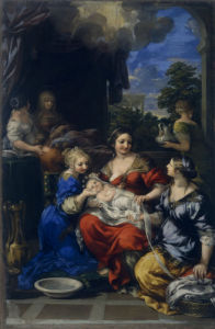 The Birth of the Virgin by Pietro da Cortona