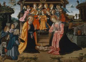 Adoration of the Shepherds by Fiorenzo di Lorenzo