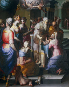 Presentation in the Temple by Naldini Battista