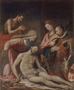 Lamentation of Christ by Santi di Tito