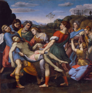 Entombment of Christ by Guiseppe Cesari