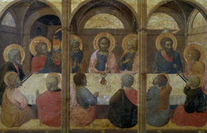 The Last Supper by Stefano di Giovanni Sassetta