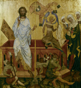 Resurrection of Christ by Master of Hohenfurth