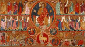 Christ in Splendour by Master of San Felice di Giano