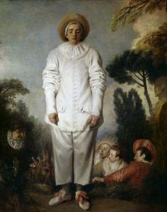 Gilles by Jean Antoine Watteau