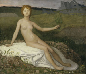 Hope by Pierre Puvis de Chavannes