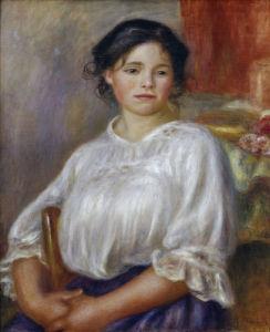 Helene Bellon by Pierre Auguste Renoir