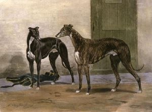 Simonian & Fullerton (Restrike Etching) by Harrington Bird