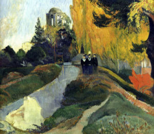 The Three Graces (detail) by Paul Gauguin
