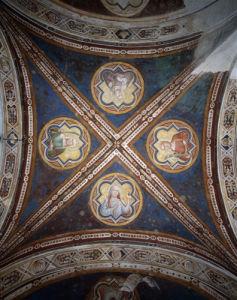 Frescoes in S.Miniato al Monte by Taddeo Gaddi