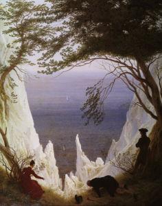 White Cliffs of Ruegen by Caspar David Friedrich