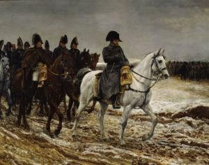 Campagne de France Napoleon (detail) by Jean-Louis Ernest Meissonier