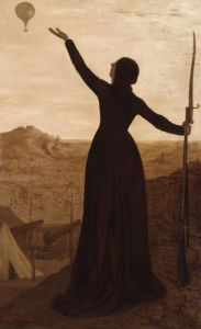 Siege of Paris 1871 by Pierre Puvis de Chavannes