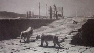 Persepolis (Restrike Etching) by Briton Riviere