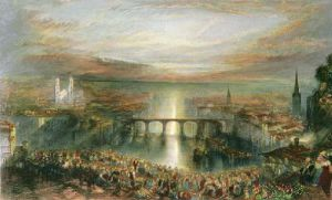 Zurich (Restrike Etching) by Joseph Mallord William Turner