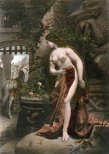 Lady Godiva (Restrike Etching) by Edward Henry Corbould
