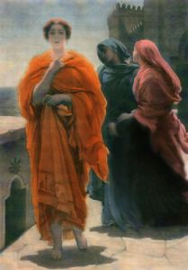 Helen of Troy (Restrike Etching) by Lord Frederic Leighton
