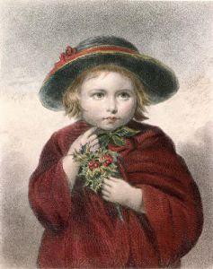 Christmas (Restrike Etching) by Eden Upton Eddis