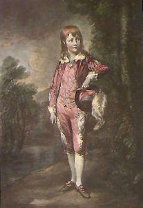 Pink Boy (Restrike Etching) by Thomas Gainsborough