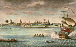 Fort George (New York S.W.) (Restrike Etching) by Carwitham