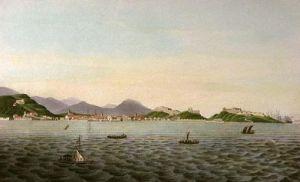 Rio De Janeiro, (Town) (Restrike Etching) by Sydenham