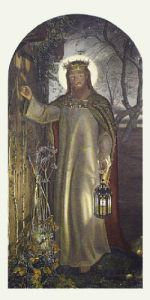 Light of the World (Restrike Etching) by William Holman Hunt