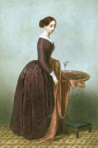 Dress Maker (Restrike Etching) by RSE Gallon