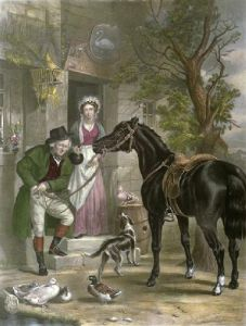 Innkeeper's Wife, The (Restrike Etching) by Alex Fraser