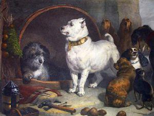 Alexander & Diogenes (Restrike Etching) by Sir Edwin Henry Landseer