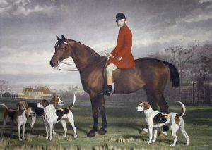 Mr Scratton (Restrike Etching) by Stephen Pearce