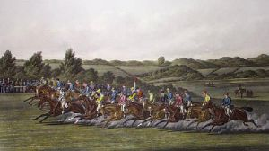 Start (Derby) (Restrike Etching) by Henry Alken