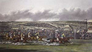 Finish (Derby) (Restrike Etching) by Henry Alken