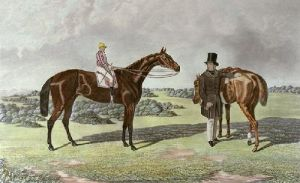 Raby (Restrike Etching) by William Henry Davis