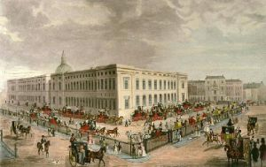 General Post Office (Restrike Etching) by James Pollard