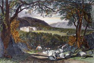 Aske Hall (Restrike Etching) by Joseph Mallord William Turner