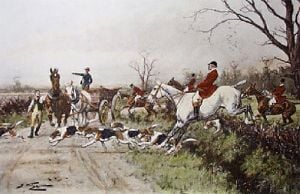 Good For Forty Minutes (Restrike Etching) by Wright