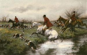 Killing Pace, A (Restrike Etching) by Wright