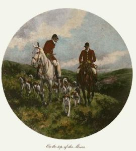 Top Of The Moors (Restrike Etching) by Wright