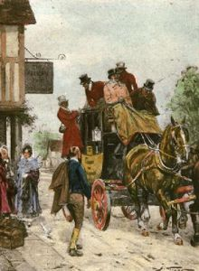 Right on Time (Restrike Etching) by Wright