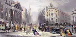City of London (Restrike Etching) by George Chambers