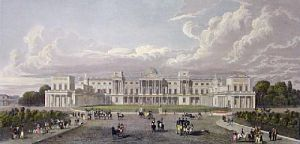 St. James Park (Restrike Etching) by Peter Paul Pugin