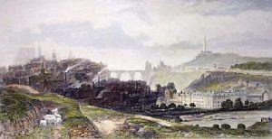 Edinburgh Castle (Restrike Etching) by Edward Duncan