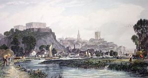 Nottingham (Restrike Etching) by Edward Duncan