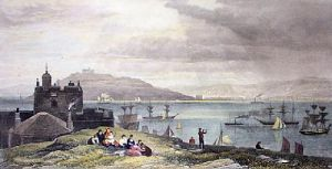 Falmouth (Restrike Etching) by Edward Duncan