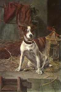 I Smell A Rat (Restrike Etching) by William Weekes