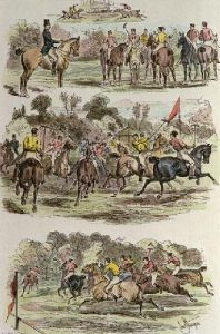 Military Polo at Hurlingham (Restrike Etching) by Sturgess