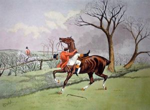 Narrow Squeak (Restrike Etching) by TNH Walsh