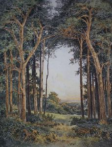 Evening Light (Restrike Etching) by Benjamin Williams Leader