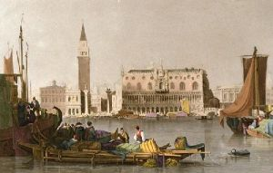 City of Venice (Restrike Etching) by Samuel Prout